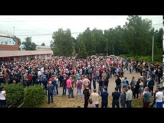 Бунт в Чемодановке. Народный сход