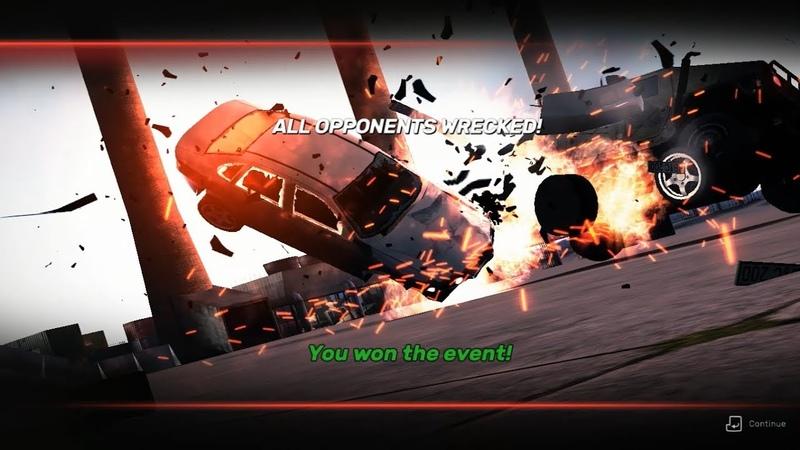 Crashday Redline Edition / amateurs4 - You Got Something I Need / 00'07.357 / World Record