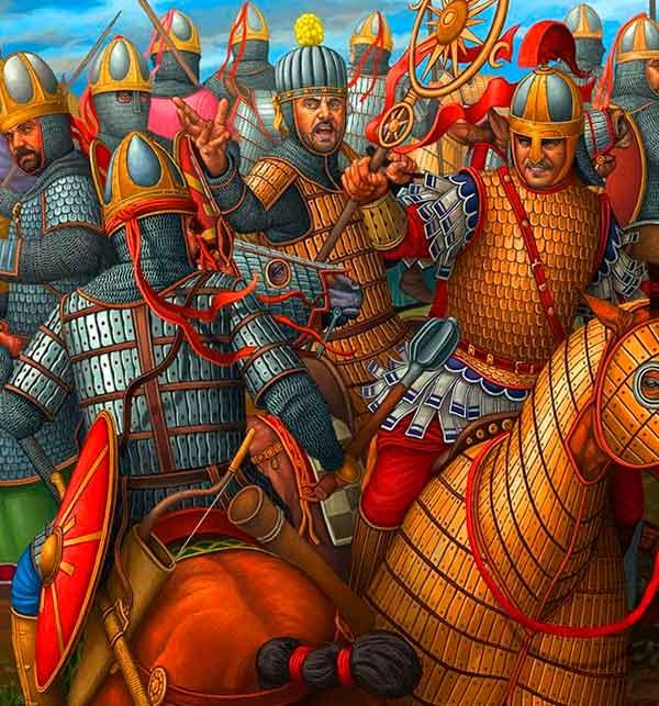 Бой римлян