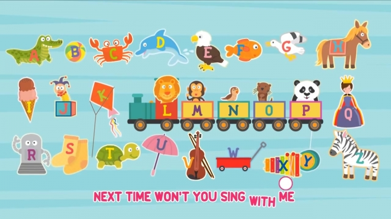 ABC Alphabet Song Educational Kids Song with English Alphabet Phonics