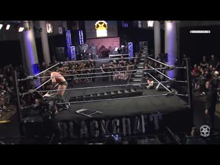 Реслинг Сатанистов FREE MATCH Burning Bridges 2018_ Matthew Justice vs Stockade vs Demarcus Kane