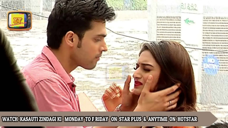 Prerna and Anurag's Rainy Romance Got Disturbed   कसौटी ज़िन्दगी की   Parth Samthan , Erica Fernandes