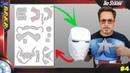 Como fazer um capacete homem de ferro diy / 4 Pepakura Designer