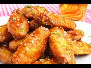 Бесподобный рецепт . Куриные крылышки в духовке