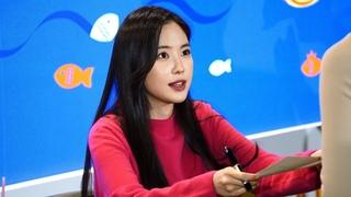 "191013 APINK (에이핑크) NAEUN (손나은) Fan sign 팬사인회 ""DongWon event 동원참치"" 4K 직캠 fancam"