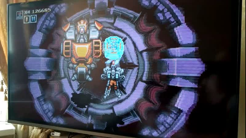 PS4 - Blazing Chrome: Stage 4 Jetpack Stage 5 Hidden Outpost