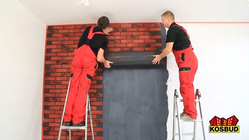 Elastyczny panel KLINKIERO w rolce instrukcja montażu KOSBUD