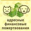 """Адресные пожертвования  """"Усатые-Полосатые"""""""