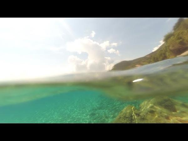 Underwater Corfu 2018 Barbati beach Paleokastritsa Dassia beach