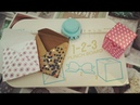 1-2-3 Punch Board We R tutorial: busta ,busta spessorata e scatolina