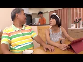 Fukiishi rena - a son-in-law daughter aiming for big tits who are too obscene with their mother-in-law
