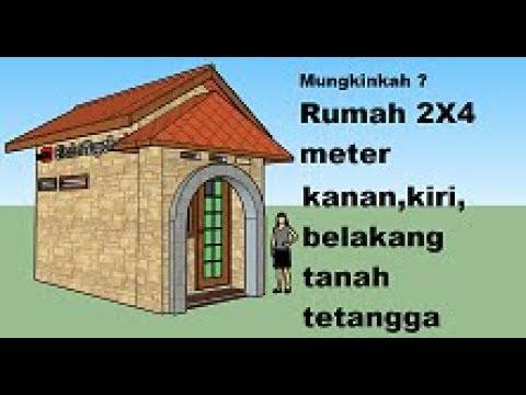 EP 3 Inspirasi desain rumah 2X4 meter Rumah mikro kekinian