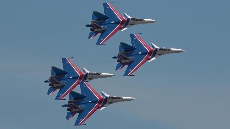 Russian Knights Power Precison Flat Spin LIMA 2019