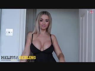 Busty blonde Melissa Debling голая грудастая сочная девушка