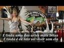 É linda música de Capoeira autor Mestre Pepeu