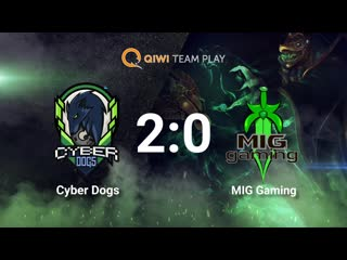 Cyber Dogs vs MIG Gaming