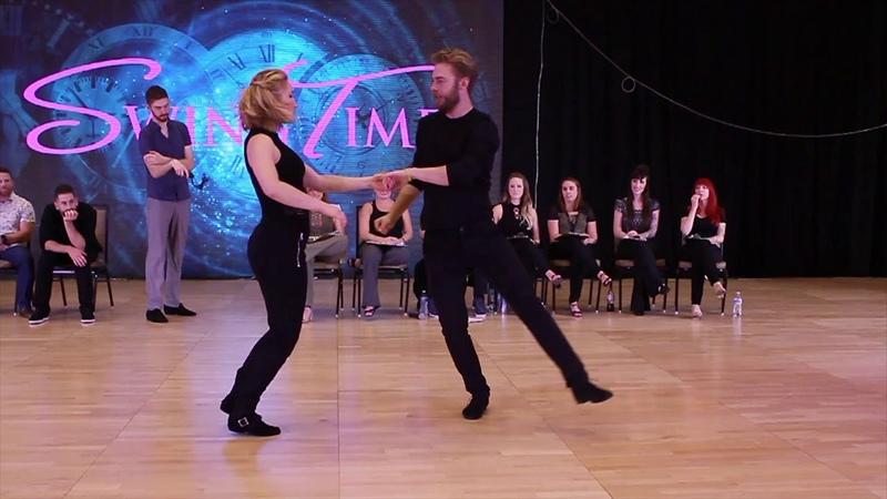 Ben McHenry Victoria Henk - SwingTime 2018 Champions Jack Jill 1st Place