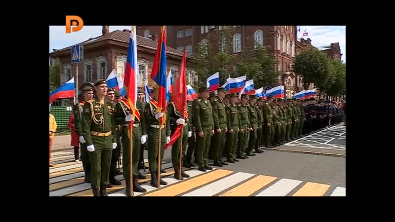 Открытие аллеи героев полководцев в Костроме ОТРК Русь Новости от 13 08 2109