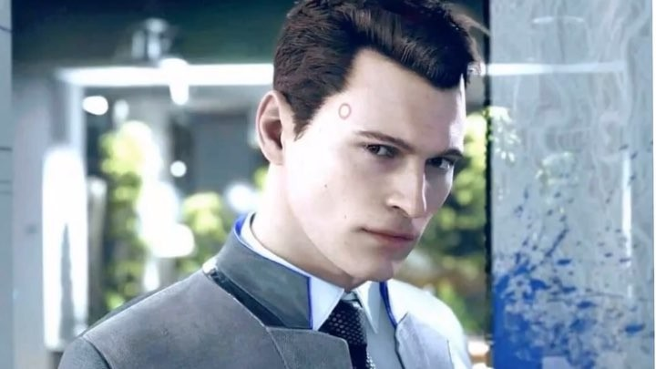 """Detroitbecom human on Instagram """"Almost the whole Connor story 🌍🎮 . . . . . Acmedt@bryandechart . . . . . 🎶 . . . . . . . . . . connor detro..."""