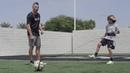 SKLZ Star-Kick: Passing Technique Soccer Drill