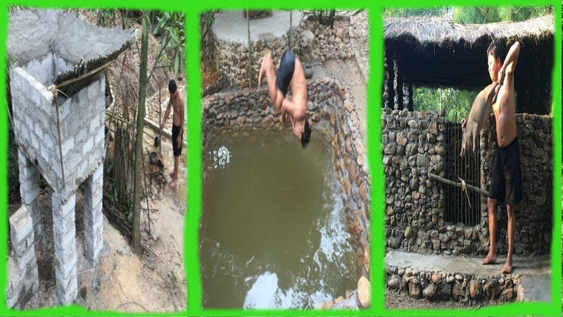 Primitive LifeAncient Concrete-Pool and Pigsty!Next months in the forest!