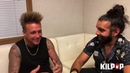 PapaRoach Jacoby Shaddix from Papa Roach with Ryan Patrick of Otherwise