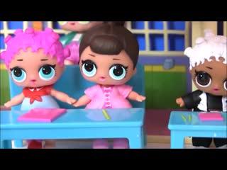 Куклы Лол Сюрприз! Детский лагерь с русалками и профессия для Lol Surprise Dolls мультик Шопкинс