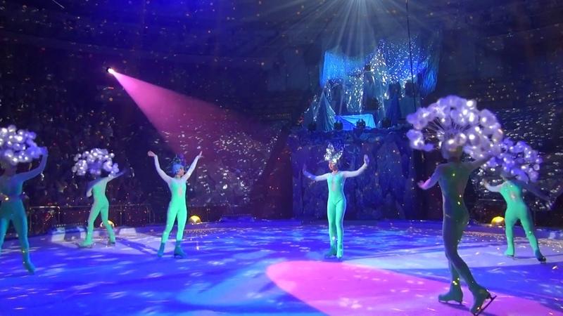 Дрессура голубей Цирк на льду Программа Айсберг
