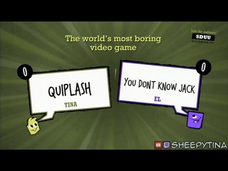 Quiplash XL the world's most boring video game Easter Egg (Back Talk achievement/trophy)