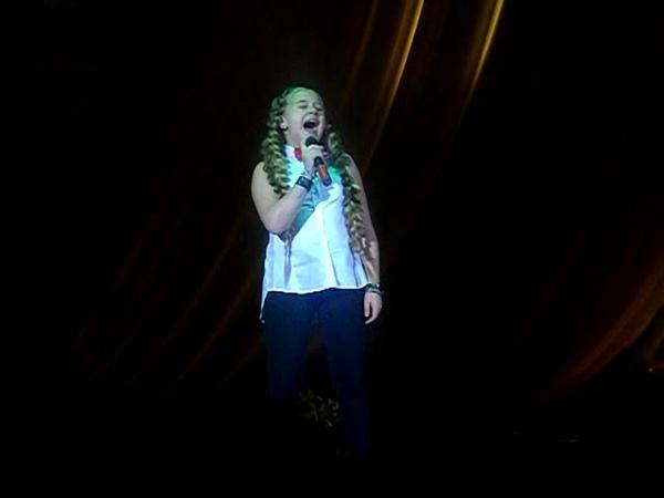 Злата Рыжикова,Лилиана Садовская Могилев Концерт в ДК Области 31 05 2017
