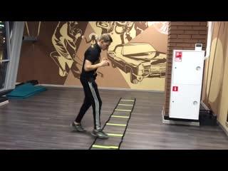 Тренировка координации и подвижности