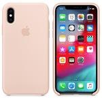 Силиконовый чехол для iPhone X, цвет «розовый песок»