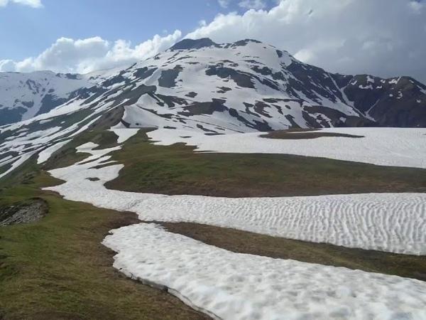 მწვერვალი გულბა - 3,810 მ , სვანეთის კავკასიონი