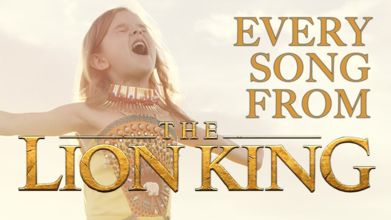 EVERY SONG FROM DISNEY'S THE LION KING 6 YEAR OLD CLAIRE AND THE CROSBY FAMILY