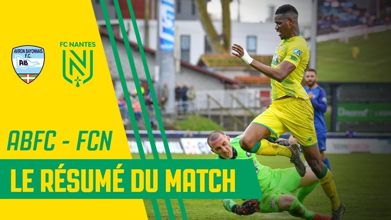 Aviron Bayonnais - FC Nantes le résumé