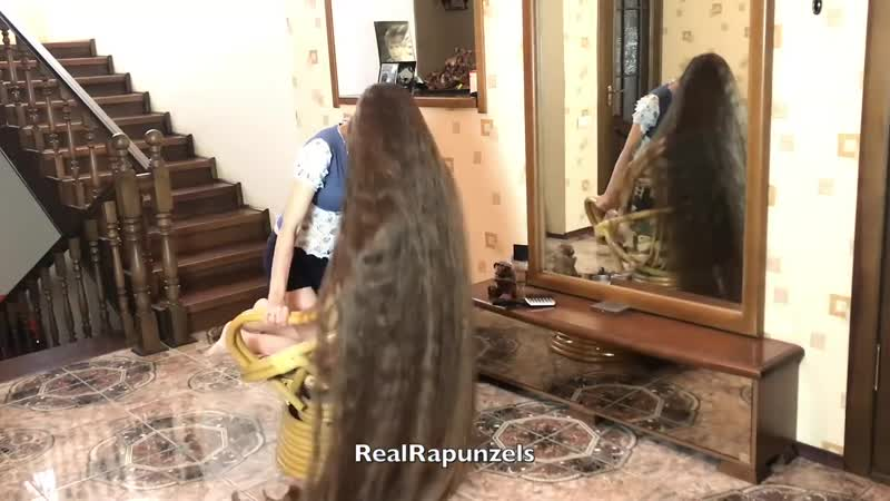RealRapunzels _ Rapunzels Chair in Front of The Mirror (preview). 15.Х.2019.