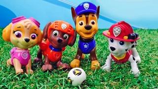 Игрушки Щенячий Патруль  Щенки Спасатели в видео для детей.