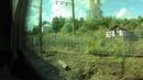 Россия из окна поезда Кемерово Москва серия 36