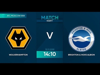 AFL19. England. League One. Day 22. Wolverhampton - Brighton&Hove Albion