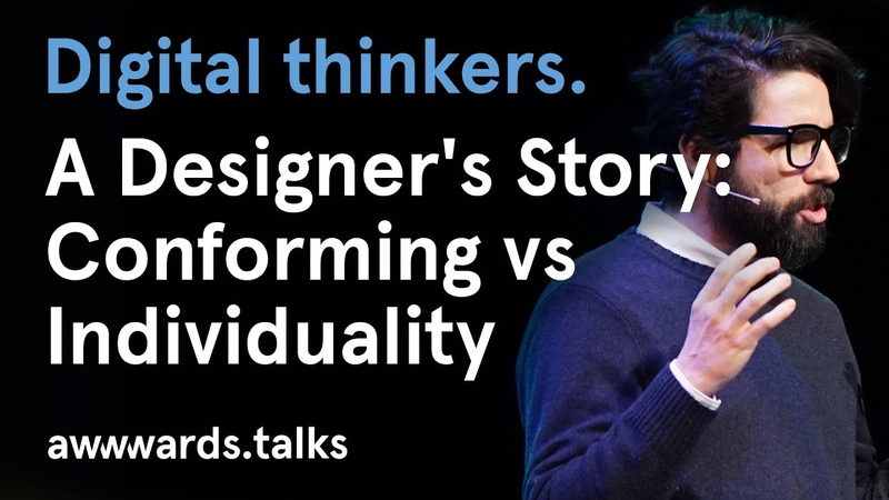 A Designer's Story: Conforming vs Individuality I InvisionApp Pablo Stanley | Awwwards Amsterdam