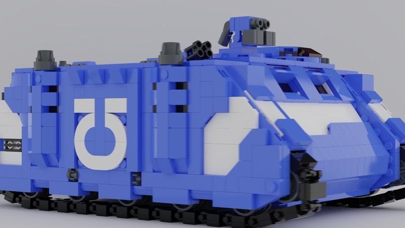 LEGO Rhino and Dreadnought | Warhammer 40k