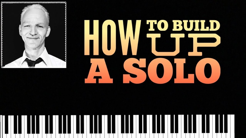 How to build up a Blues piano improvisation with Licks blues scale in C