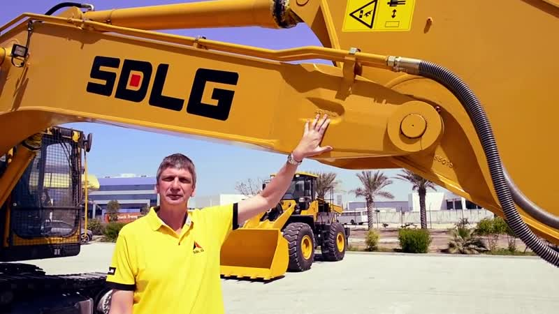 Excavator SDLG LG6300E