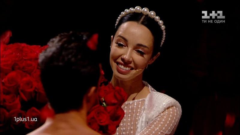 Олександр Стоянов зробив танцювальний подарунок дружині у шоу Танці з зірками
