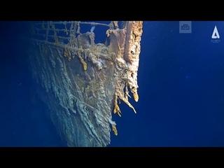 شاهد اول فيديو لحطام السفينه تيتانيك Titanic من ا&#