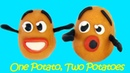 One Potato, Two Potatoes 💕 Learn English with Songs for Children