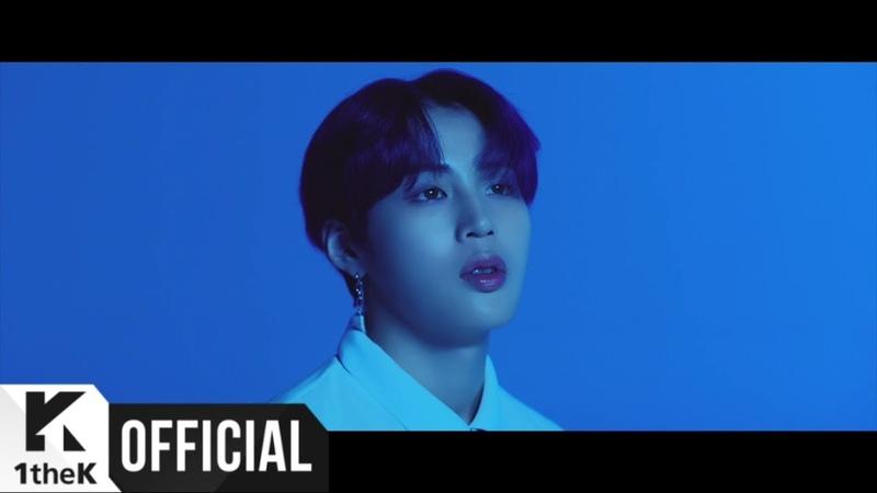 Sungwoon HOTSHOT новый соло клип Blue