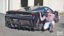 THIS Ferrari 488 Pista has a CRAZY Boden Autohaus Exhaust!