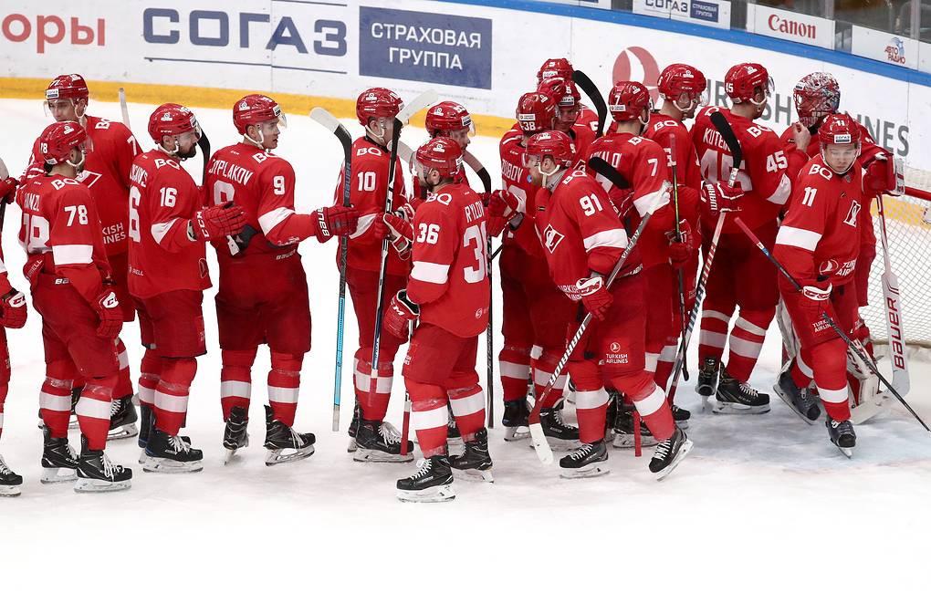 Спартак хоккейный клуб москва игры работа в ночной клуб вакансии москва