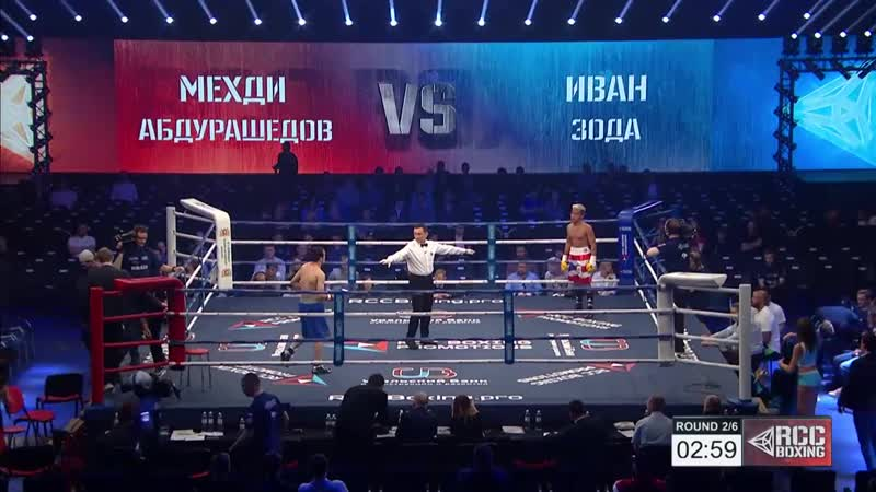 Mekhdi Abdurashedov vs Iwan Zoda